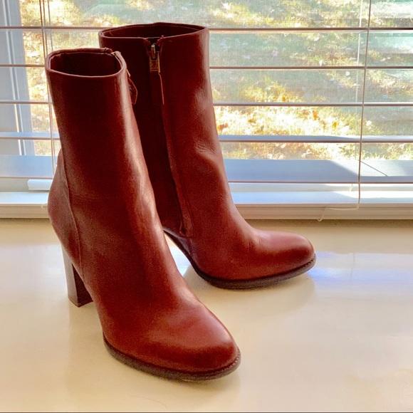 cba19d218752b4 Sam Edelman Shoes - Sam Edelman Reyes Boot - Rust Red
